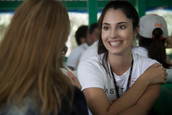 Volunturista Vivalá em ação durante Expedição Amazônia Rio Negro