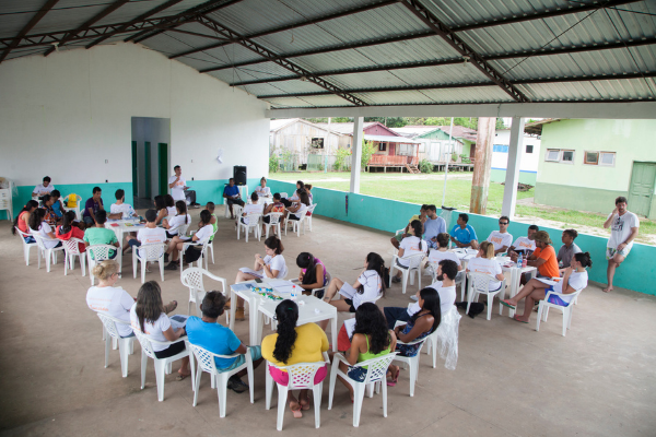 volunturismo da Vivalá na Expedição Amazônia Rio Negro