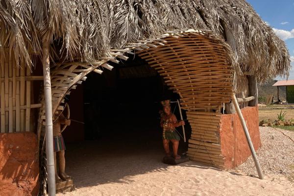 aldeia multiétnica, chapada dos veadeiros
